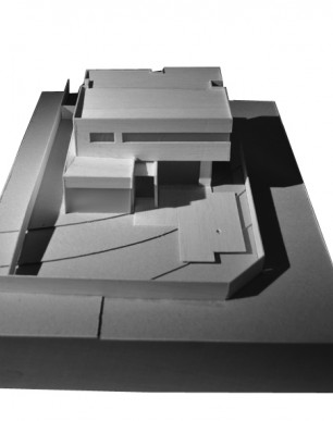 MUSK Architecture Studio_ Balwyn House Model 01 625x390bw