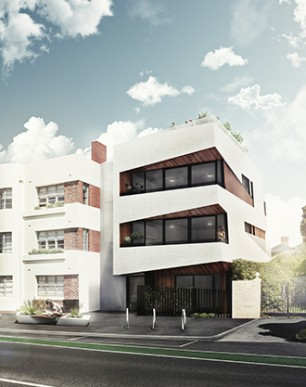 MUSK Architecture Studio - Albert Road Render 625w